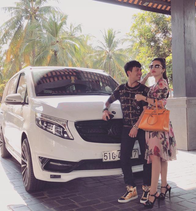 Kỷ niệm ngày cưới, Minh Nhựa tặng xe sang Jaguar XF cho vợ - Ảnh 5.
