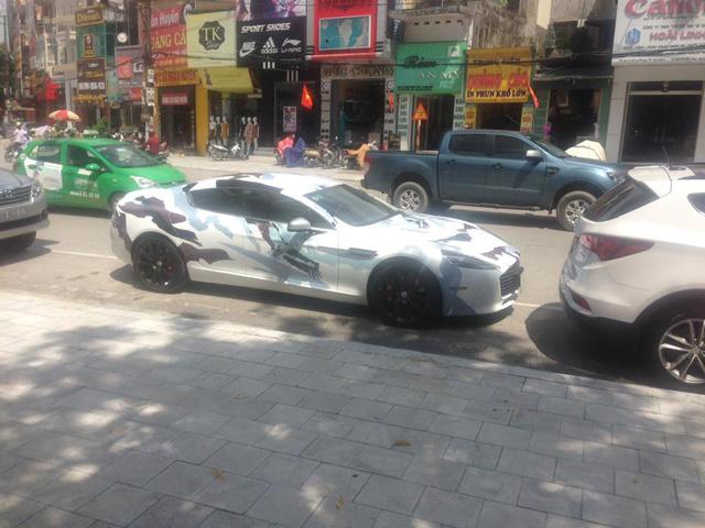 Sau lùm xùm biển giả, thiếu gia Ninh Bình thay áo mới cho Aston Martin Rapide S - Ảnh 2.