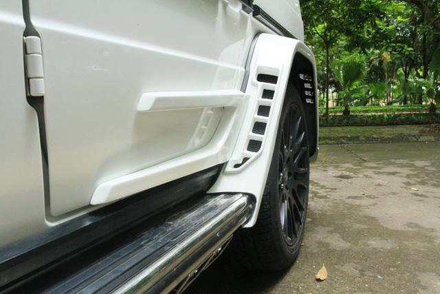 Xôn xao bản độ body kit Wald International của Mercedes-Benz G-Class AMG tại Hà thành - Ảnh 4.
