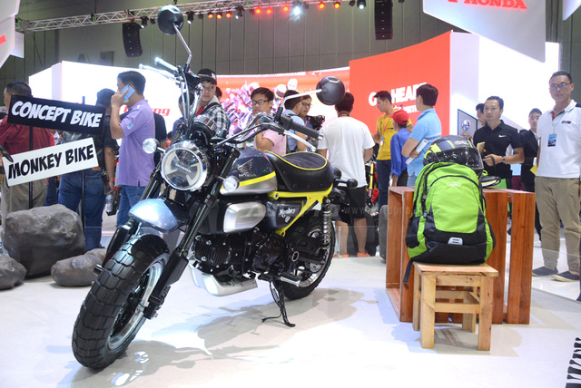 Khỉ con Honda Monkey 125 xuất hiện lần đầu tại Việt Nam - Ảnh 2.