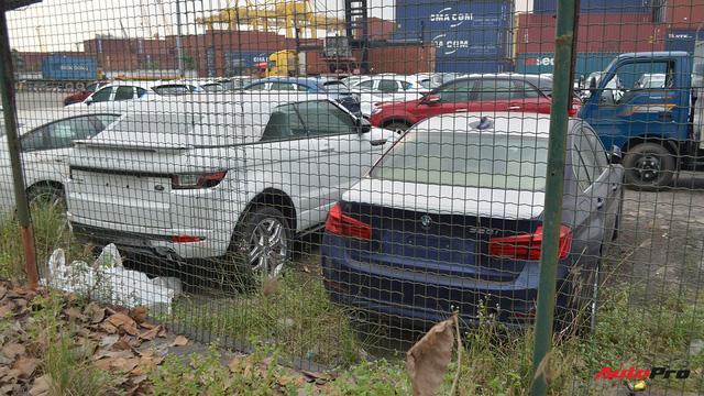 Ngoài BMW, hàng loạt ô tô nhập khẩu và lắp ráp chen chân tại cảng VICT dịp cuối năm - Ảnh 6.