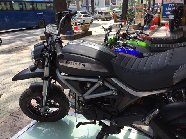 Xuất hiện phiên bản nhái Ducati Scramber 36 triệu Đồng tại Sài thành - Ảnh 6.