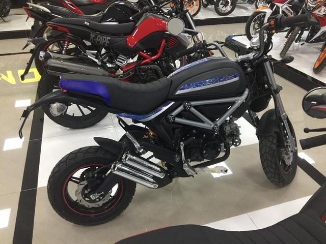 Xuất hiện phiên bản nhái Ducati Scramber 36 triệu Đồng tại Sài thành - Ảnh 4.