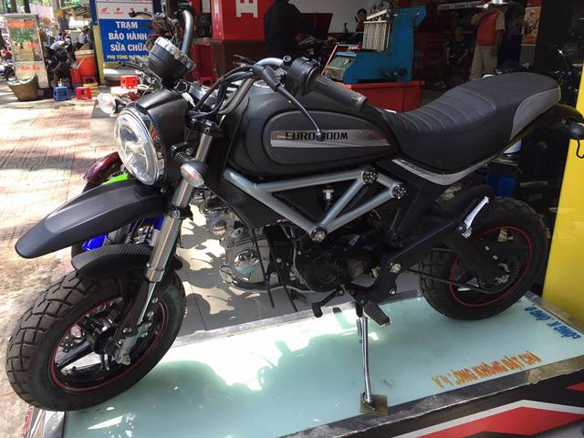 Xuất hiện phiên bản nhái Ducati Scramber 36 triệu Đồng tại Sài thành - Ảnh 1.