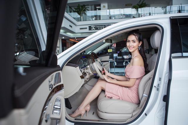 Top 5 Hoa hậu Việt Nam 2012 Phan Thị Mơ tậu Mercedes-Benz S400 trị giá 4 tỷ Đồng - Ảnh 2.