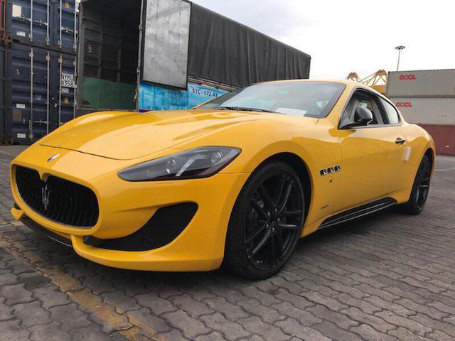 Khui công Maserati GranTurismo MC Sportline đầu tiên xuất hiện tại Việt Nam - Ảnh 1.
