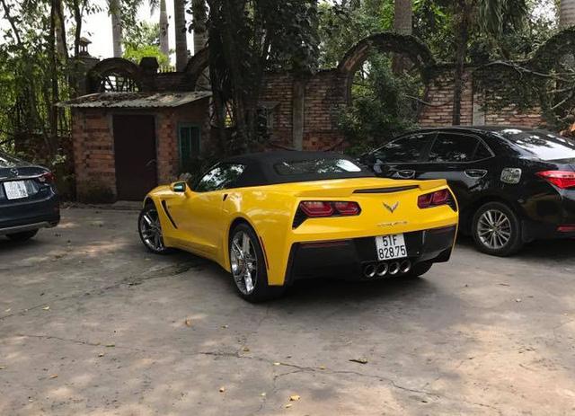 Nữ tay đua đốt lốp Chevrolet Corvette C7 Stingray mui trần tại trường đua 2.000 tỷ Đồng của Dũng lò vôi - Ảnh 7.