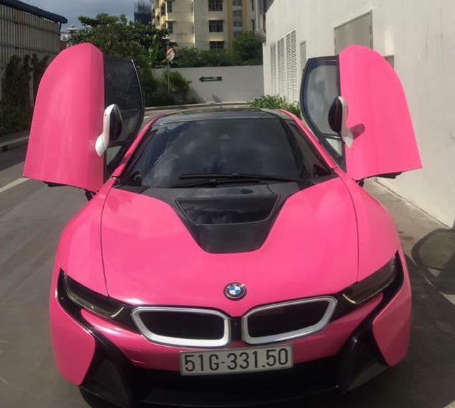 BMW i8 của hot girl Sài thành lại thay áo màu cá tính - Ảnh 1.