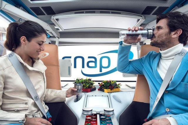 Rinspeed Snap - Xe tự lái có thể tách khung gầm với thân vỏ - Ảnh 6.
