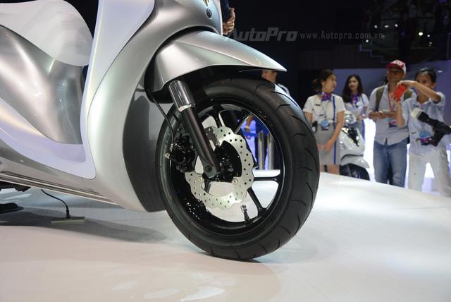 Yamaha Glorious - Xe concept mang âm hưởng nhạc cụ độc đáo - Ảnh 13.