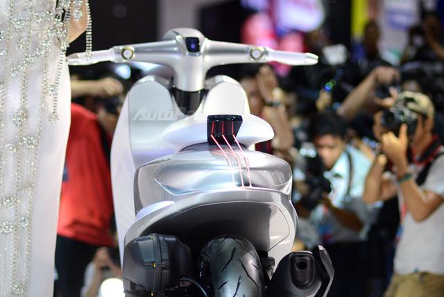 Yamaha Glorious - Xe concept mang âm hưởng nhạc cụ độc đáo - Ảnh 16.