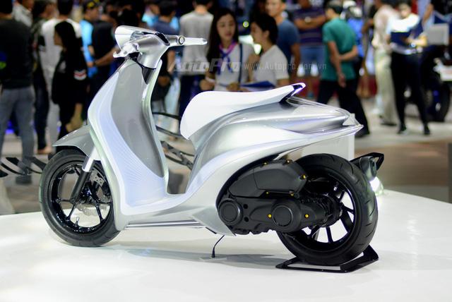 Yamaha Glorious - Xe concept mang âm hưởng nhạc cụ độc đáo - Ảnh 2.