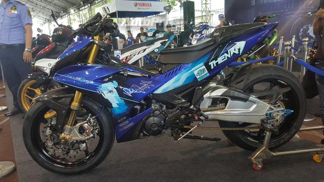 Dàn Yamaha Exciter độ độc đáo tụ tập tại Sài thành - Ảnh 8.
