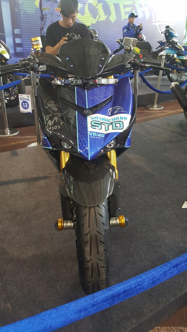 Dàn Yamaha Exciter độ độc đáo tụ tập tại Sài thành - Ảnh 6.