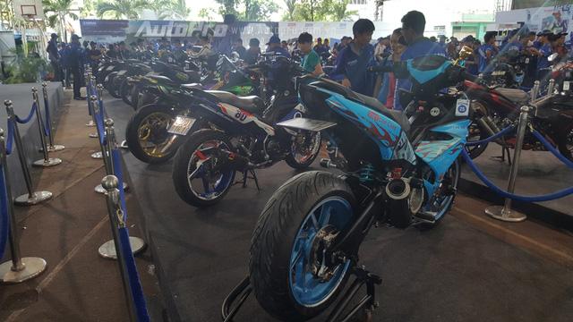 Dàn Yamaha Exciter độ độc đáo tụ tập tại Sài thành - Ảnh 4.