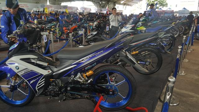 Dàn Yamaha Exciter độ độc đáo tụ tập tại Sài thành - Ảnh 2.