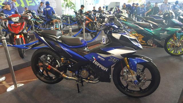 Dàn Yamaha Exciter độ độc đáo tụ tập tại Sài thành - Ảnh 12.