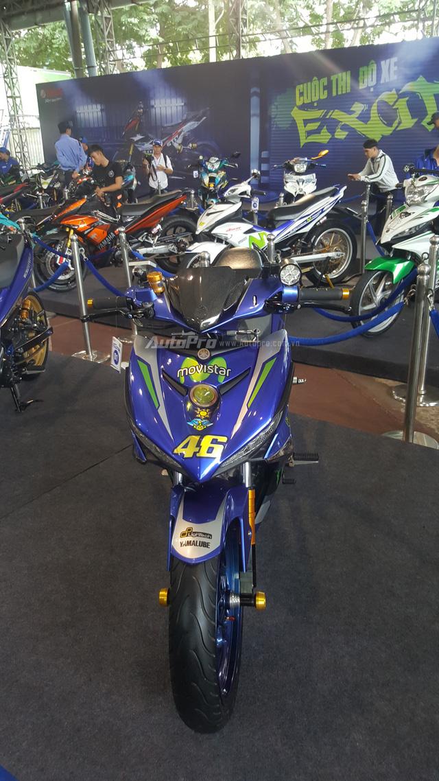 Dàn Yamaha Exciter độ độc đáo tụ tập tại Sài thành - Ảnh 15.