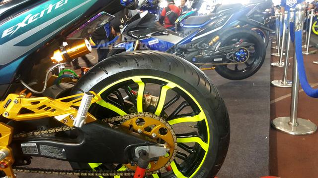 Dàn Yamaha Exciter độ độc đáo tụ tập tại Sài thành - Ảnh 13.