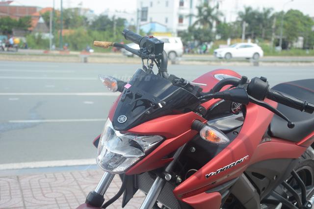 Cận cảnh lô xe côn tay Yamaha V-Ixion R 2017 mới về Việt Nam, giá hơn 70 triệu Đồng - Ảnh 18.
