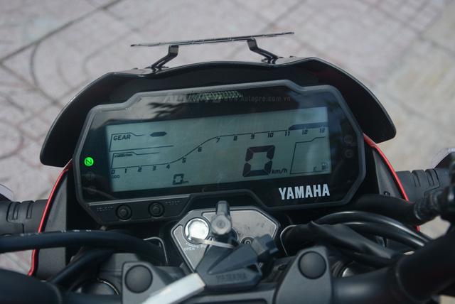 Cận cảnh lô xe côn tay Yamaha V-Ixion R 2017 mới về Việt Nam, giá hơn 70 triệu Đồng - Ảnh 15.