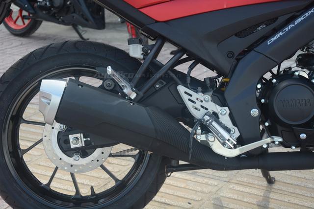 Cận cảnh lô xe côn tay Yamaha V-Ixion R 2017 mới về Việt Nam, giá hơn 70 triệu Đồng - Ảnh 16.