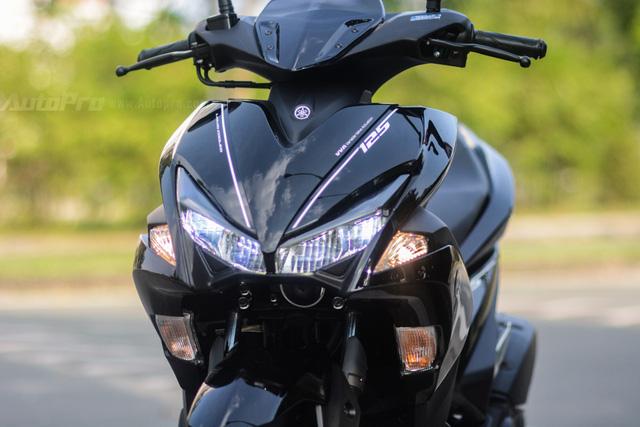 Cận cảnh Yamaha NVX 125, đối thủ chính của Honda Air Blade 125 - Ảnh 10.