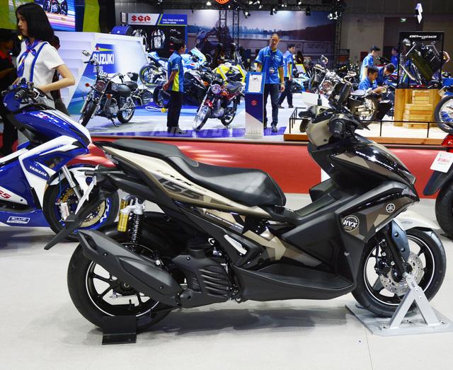 Loạt xe máy đình đám tại triển lãm VMCS 2017 - Ảnh 7.