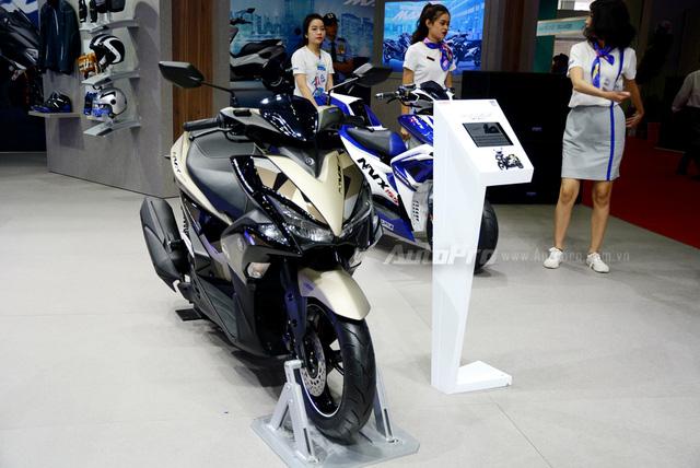 Yamaha trình làng NVX 155 bản giới hạn, khác biệt từ màu sơn và giảm xóc sau - Ảnh 9.