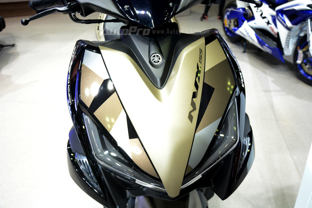 Yamaha trình làng NVX 155 bản giới hạn, khác biệt từ màu sơn và giảm xóc sau - Ảnh 7.