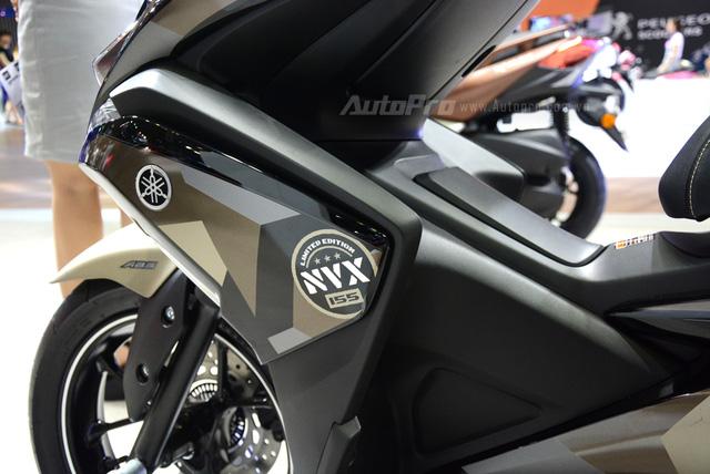 Yamaha trình làng NVX 155 bản giới hạn, khác biệt từ màu sơn và giảm xóc sau - Ảnh 3.