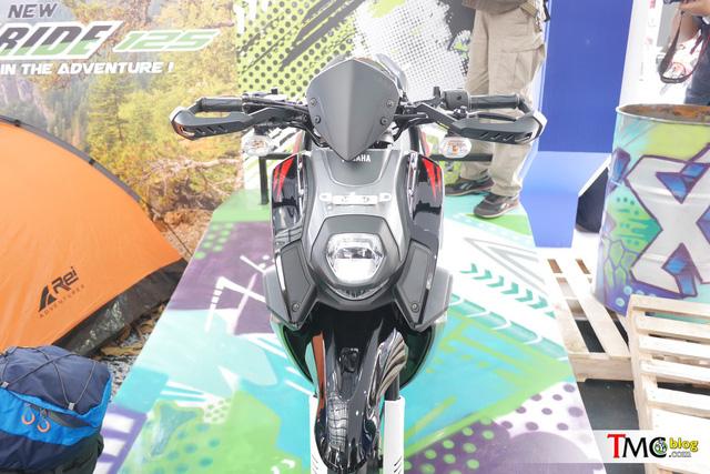 Xe ga mang phong cách off-road Yamaha X-Ride có thêm phiên bản 125 phân khối - Ảnh 1.