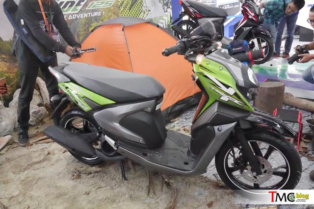 Xe ga mang phong cách off-road Yamaha X-Ride có thêm phiên bản 125 phân khối - Ảnh 9.