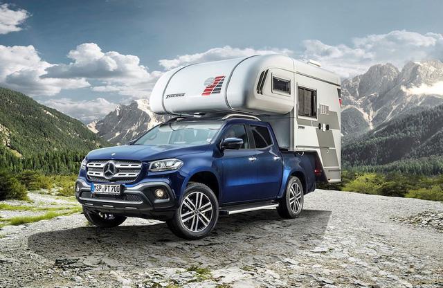 Bán tải hạng sang Mercedes-Benz X-Class biến thành xe cắm trại - Ảnh 2.