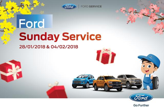 Ford tìm cách giữ khách Việt bằng dịch vụ vào chủ nhật - Ảnh 1.