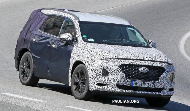 Hyundai Santa Fe thế hệ mới lần đầu lộ diện ảnh phác thảo - Ảnh 3.