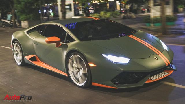 Lamborghini Huracan đổi màu lần thứ 3 tại Sài Gòn - Ảnh 9.