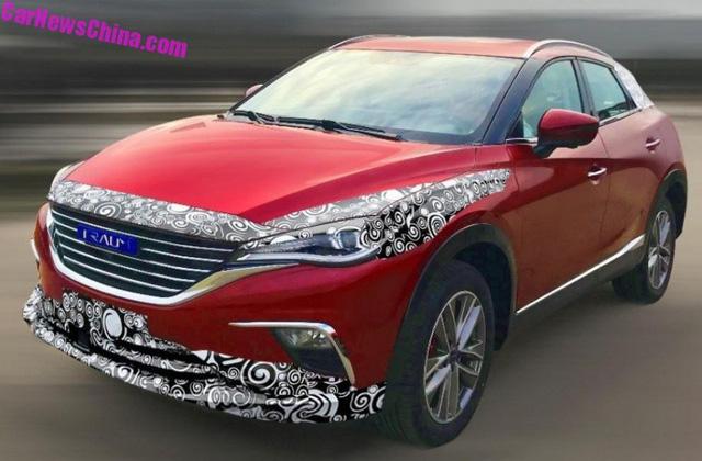 Mazda CX-4 cũng không thoát được nạn nhái xe tại Trung Quốc - Ảnh 1.