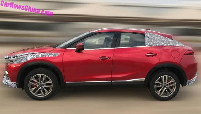 Mazda CX-4 cũng không thoát được nạn nhái xe tại Trung Quốc - Ảnh 2.