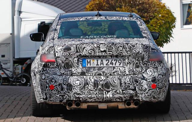 BMW M3 2019 lộ diện ngay sau khi 3-Series ra mắt - Ảnh 4.