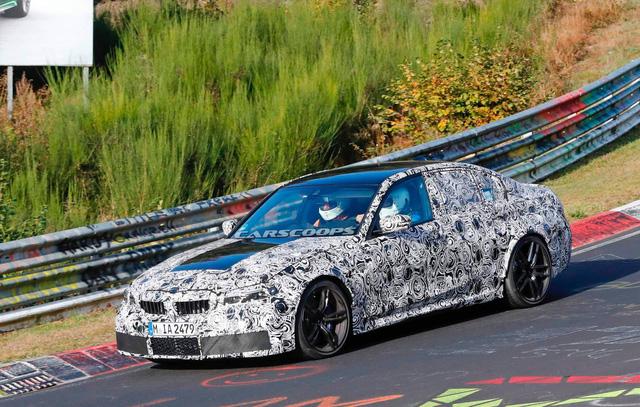 BMW M3 2019 lộ diện ngay sau khi 3-Series ra mắt - Ảnh 1.