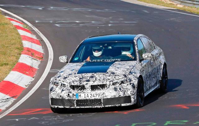 BMW M3 2019 lộ diện ngay sau khi 3-Series ra mắt - Ảnh 2.