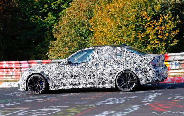 BMW M3 2019 lộ diện ngay sau khi 3-Series ra mắt - Ảnh 3.