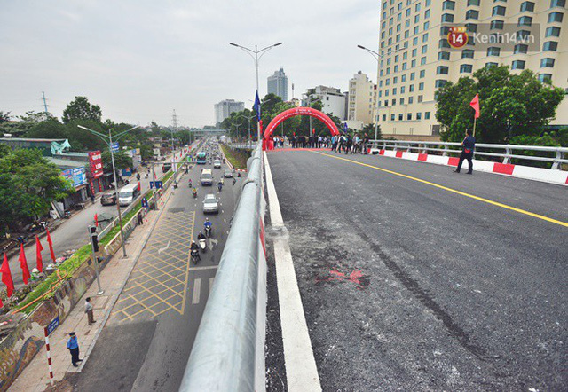 Chính thức thông xe cầu vượt An Dương-Thanh Niên - Ảnh 5.