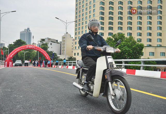 Chính thức thông xe cầu vượt An Dương-Thanh Niên - Ảnh 6.