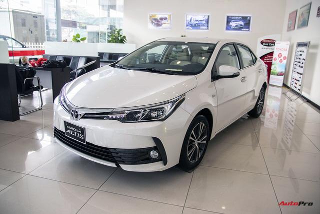 Bước chuyển mình của Toyota Corolla Altis với bản 2018