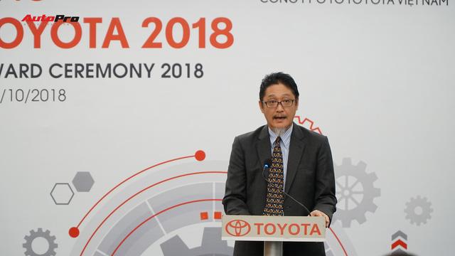 Toyota  chọn lựa  nhiều sinh viên  xuất sắc  để  thảo luận  bí quyết kinh doanh