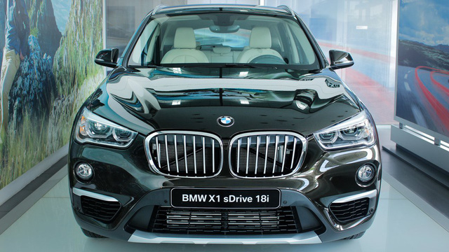 BMW X1 xLine 2018 được THACO nhập về có giá hơn 1,8 tỷ đồng, cạnh tranh Audi Q3