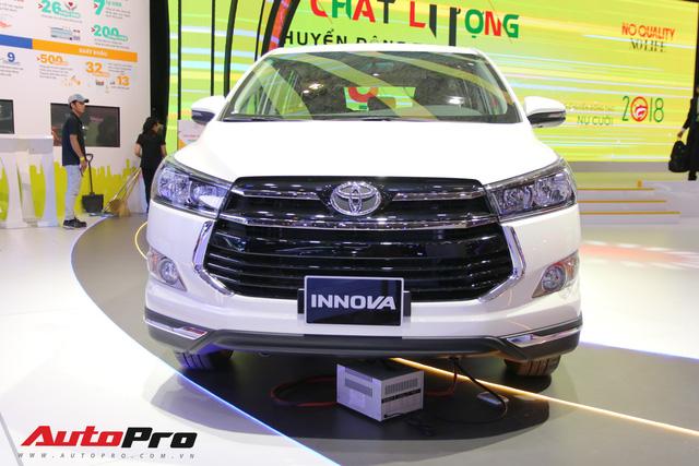 Toyota Innova bạn dạng mới bắt đầu ra mắt, giá từ 752 triệu đồng