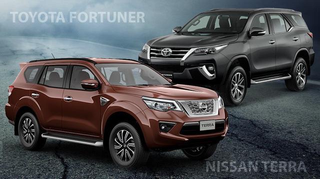 So sánh Nissan Terra với Toyota Fortuner: Thua động cơ, thắng công nghệ, giá dự kiến thấp hơn gần 150 triệu đồng